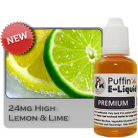 Lemon & Lime 24mg - High - 30ml