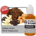 RY4 Tobacco 24mg - High - 30ml