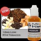 RY4 Tobacco 12mg - Low - 10ml